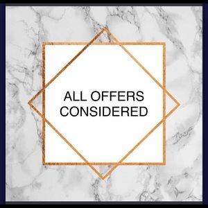 Other - We welcome offers